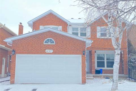 House for rent at 437 Raymerville Dr Markham Ontario - MLS: N4685104