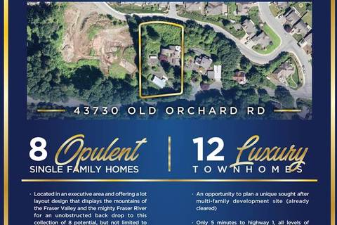 Home for sale at 43730 Old Orchard Rd Chilliwack British Columbia - MLS: R2413565