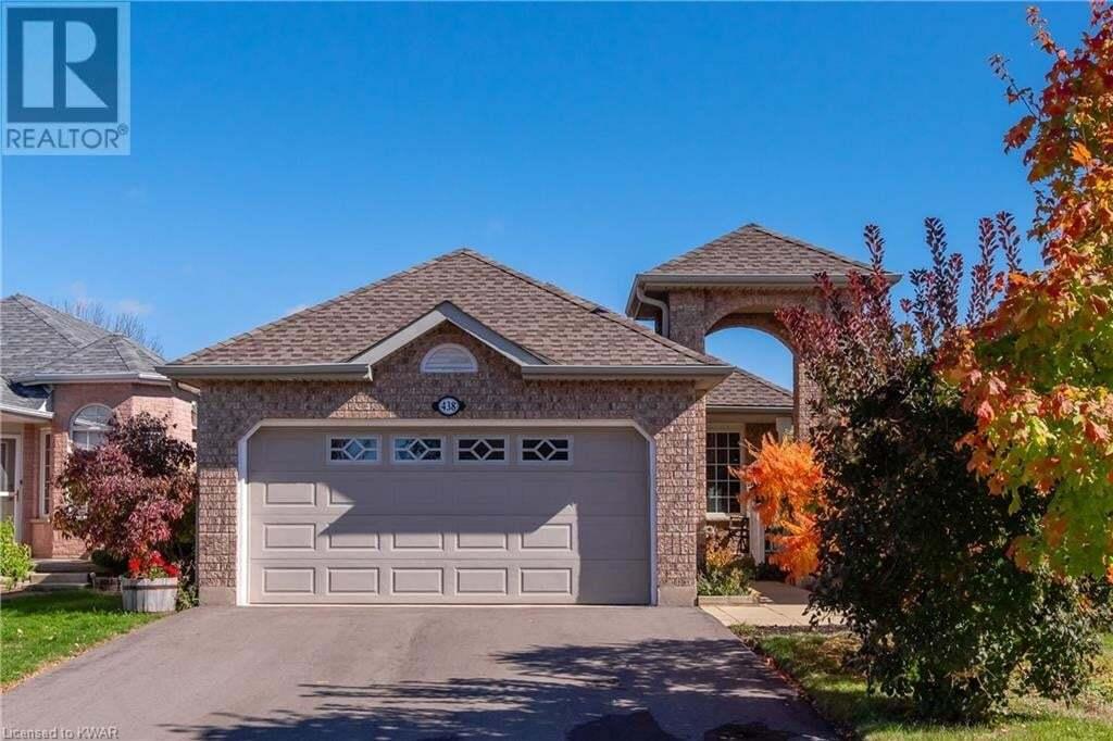 House for sale at 438 Sandbanks Cres Waterloo Ontario - MLS: 40033966