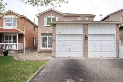 House for sale at 4387 Mayflower Dr Mississauga Ontario - MLS: W4442745