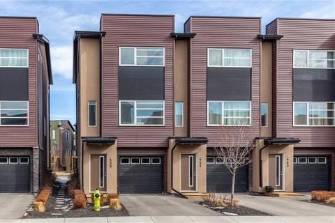 Townhouse for sale at 439 Covecreek Circ Northeast Calgary Alberta - MLS: C4288721
