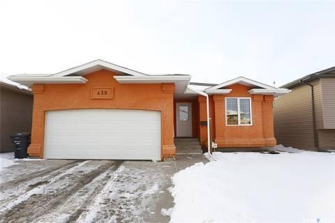 House for sale at 439 Stensrud Rd Saskatoon Saskatchewan - MLS: SK801751