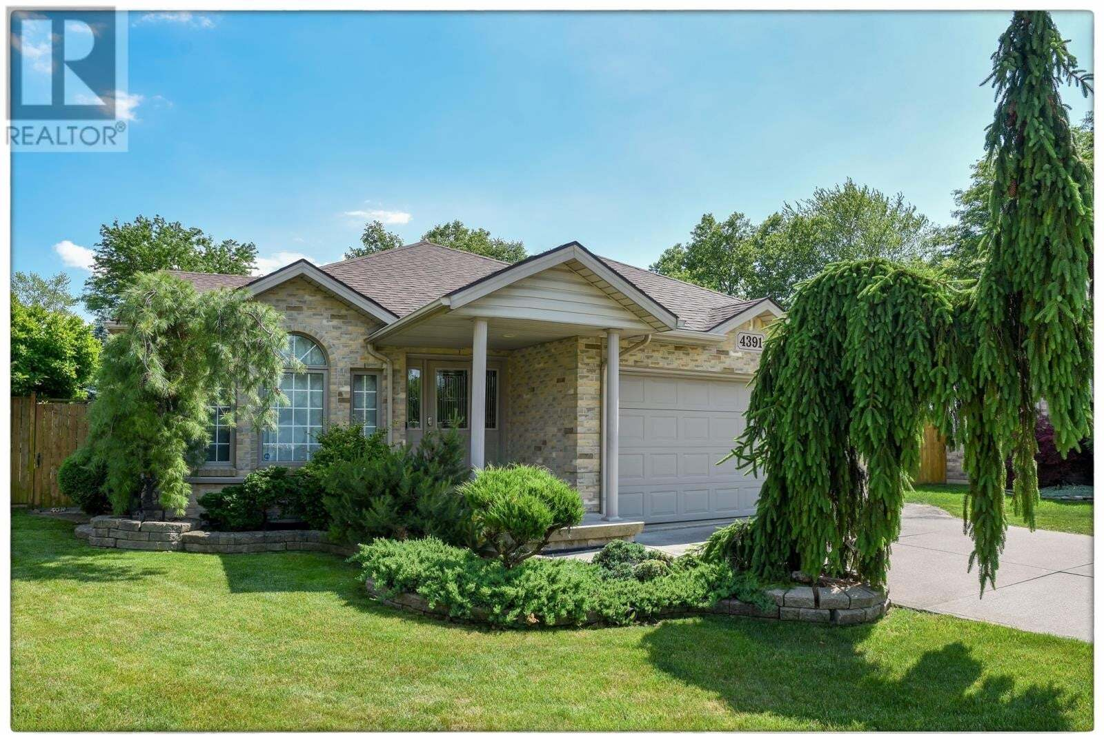 House for sale at 4391 Monterey Ct Windsor Ontario - MLS: 20012027