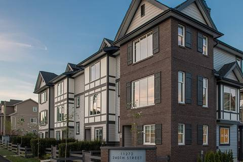 Townhouse for sale at 11272 240th St Unit 44 Maple Ridge British Columbia - MLS: R2422043