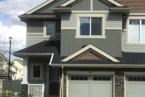 Townhouse for sale at 2004 Trumpeter Wy Nw Unit 44 Edmonton Alberta - MLS: E4142491