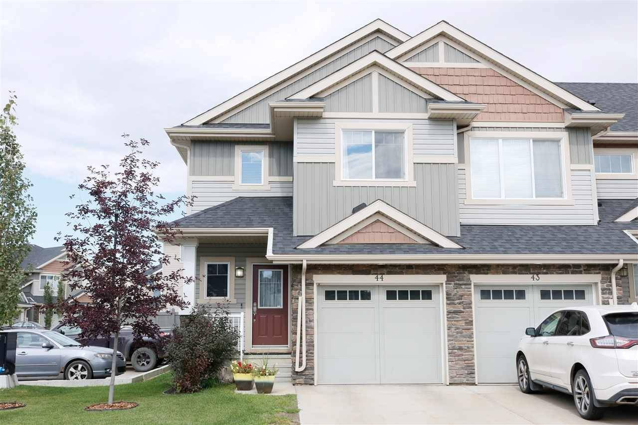 Townhouse for sale at 2004 Trumpeter Wy Nw Unit 44 Edmonton Alberta - MLS: E4172445