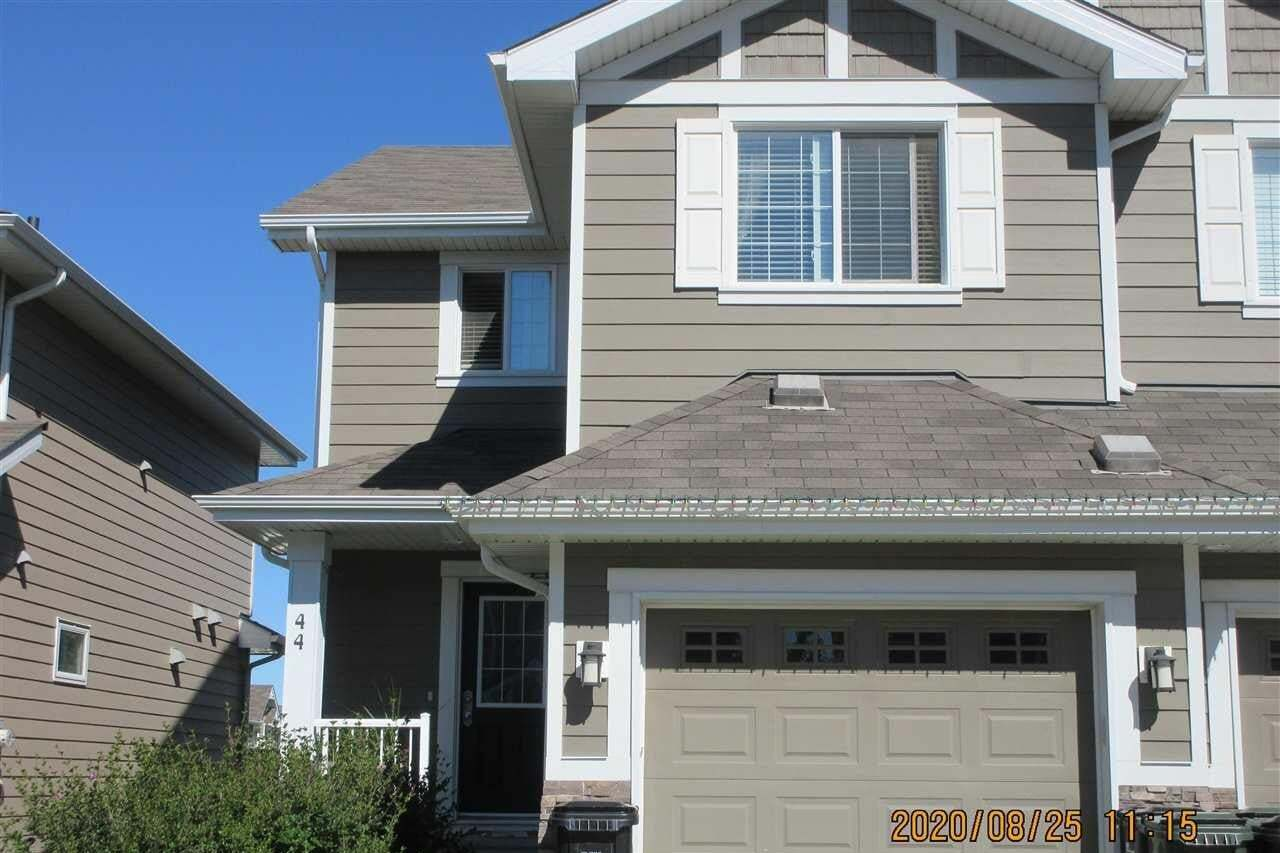 Townhouse for sale at 219 Charlotte Wy Unit 44 Sherwood Park Alberta - MLS: E4211618