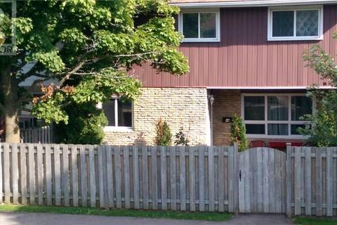 Townhouse for sale at 423 Westwood Dr Unit 44 Kitchener Ontario - MLS: 30716560