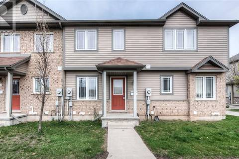 Townhouse for sale at 535 Windflower Cres Unit 44 Kitchener Ontario - MLS: 30743497