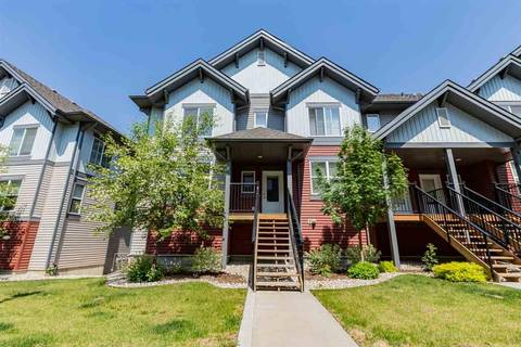 Townhouse for sale at 655 Watt Blvd Sw Unit 44 Edmonton Alberta - MLS: E4159215