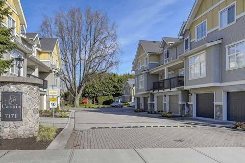 Townhouse for sale at 7171 Steveston Hy Unit 44 Richmond British Columbia - MLS: R2420985