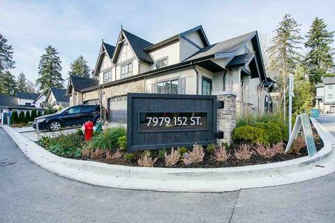 Townhouse for sale at 7979 152 St Unit 44 Surrey British Columbia - MLS: R2361573
