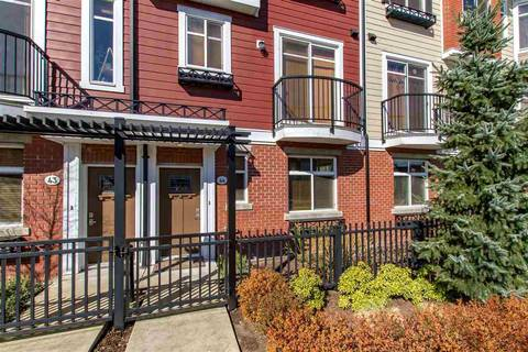 Townhouse for sale at 8068 207 St Unit 44 Langley British Columbia - MLS: R2354173