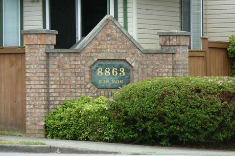 Townhouse for sale at 8863 216 St Unit 44 Langley British Columbia - MLS: R2387184