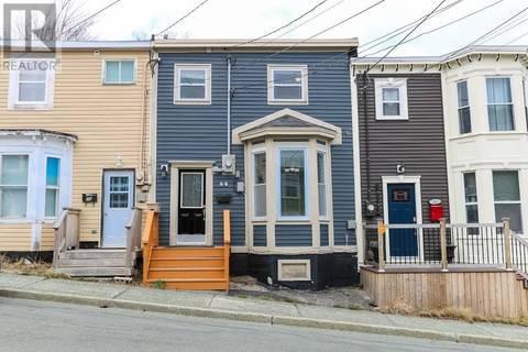 House for sale at 44 Alexander St St. John's Newfoundland - MLS: 1199138