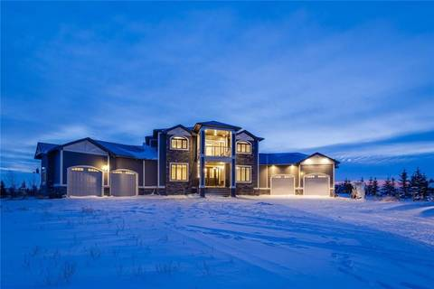 House for sale at 44 Calterra Estates Dr Rural Rocky View County Alberta - MLS: C4229798