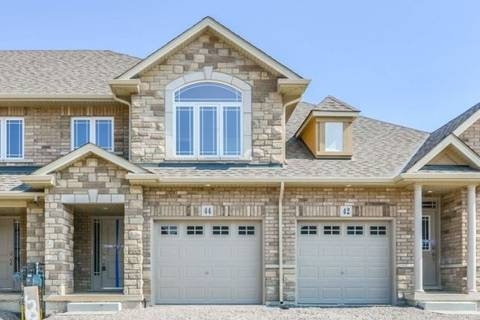 Townhouse for rent at 44 Cittadella Blvd Hamilton Ontario - MLS: X4546870