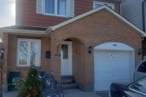 House for rent at 44 Gorsebrook Ct Brampton Ontario - MLS: W4680698