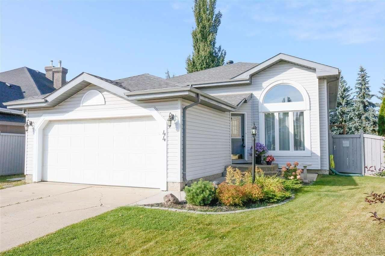 House for sale at 44 Harcourt Cr St. Albert Alberta - MLS: E4214078