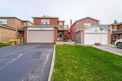 House for sale at 44 Hudson Dr Brampton Ontario - MLS: W4954025