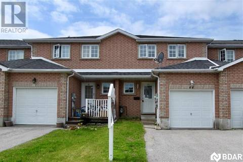 Townhouse for sale at 44 Michael Cres Barrie Ontario - MLS: 30745132