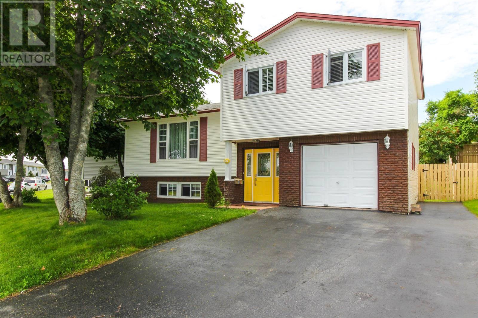 House for sale at 44 Munden Dr Mount Pearl Newfoundland - MLS: 1200300