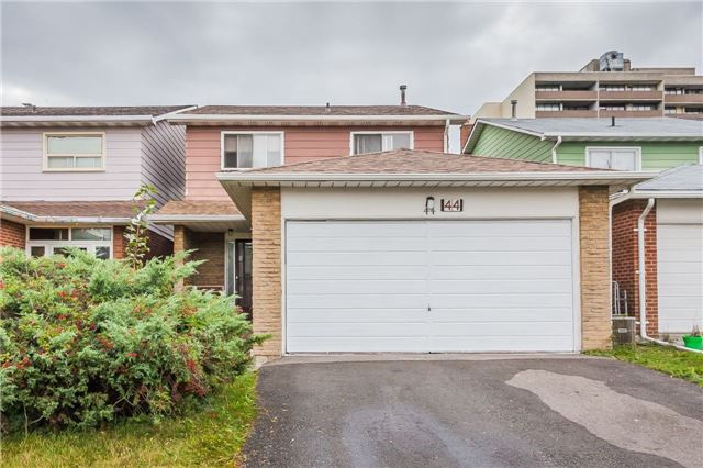 For Sale: 44 Nortonville Drive, Toronto, ON | 4 Bed, 4 Bath House for $799,900. See 19 photos!