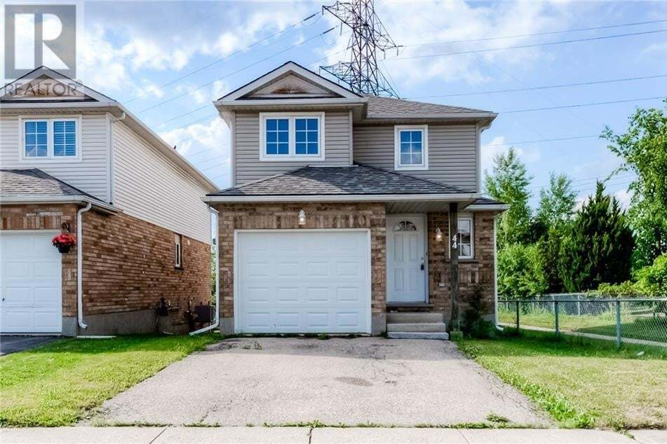 House for sale at 44 Orchid Cres Kitchener Ontario - MLS: 30818149