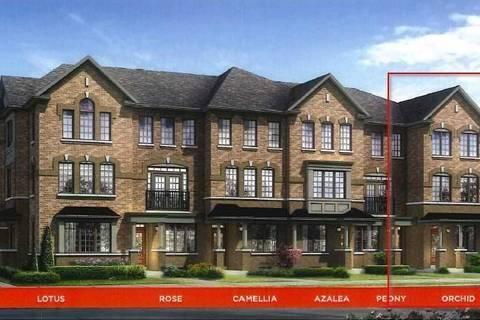 Townhouse for sale at 44 Robert Joffre Leet Ave Markham Ontario - MLS: N4414750