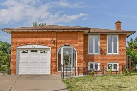 House for sale at 44 Tara Ct Hamilton Ontario - MLS: X4540243