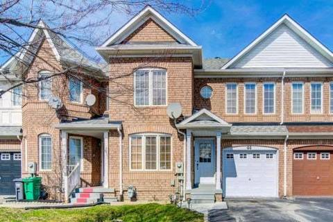 Townhouse for sale at 44 Thunderbird Tr Brampton Ontario - MLS: W4421793