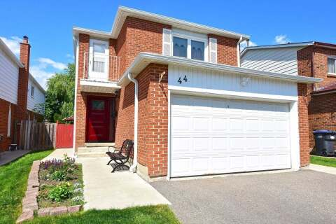 House for sale at 44 Verity Ct Brampton Ontario - MLS: W4812810