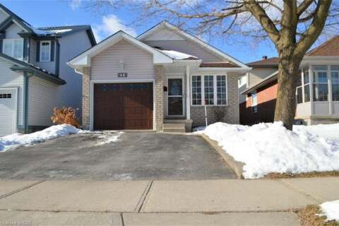 House for sale at 44 Whittaker Cres Cambridge Ontario - MLS: 30792990