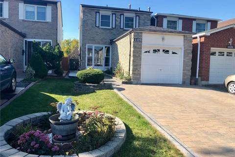 House for sale at 4400 Lee Dr Mississauga Ontario - MLS: W4581991