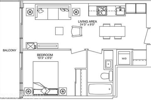 Apartment for rent at 8 Eglinton Ave Unit 4403 Toronto Ontario - MLS: C4669761