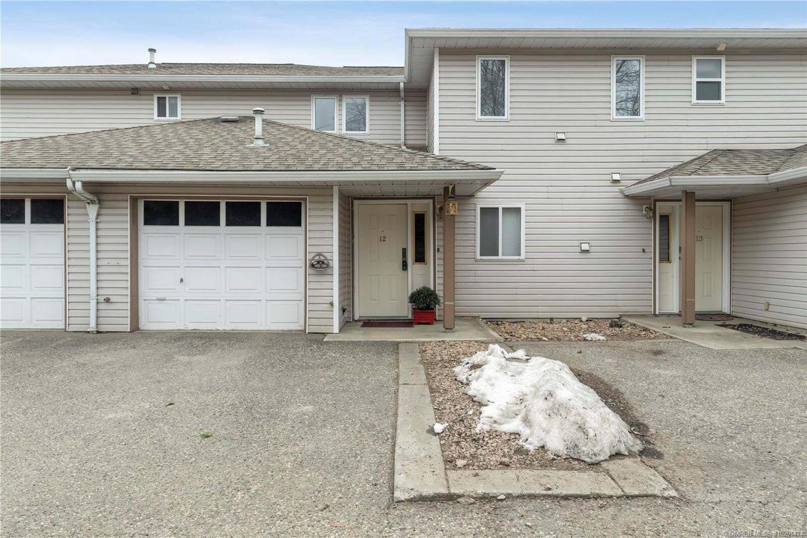 Townhouse for sale at 4404 Pleasant Valley Rd Vernon British Columbia - MLS: 10201474