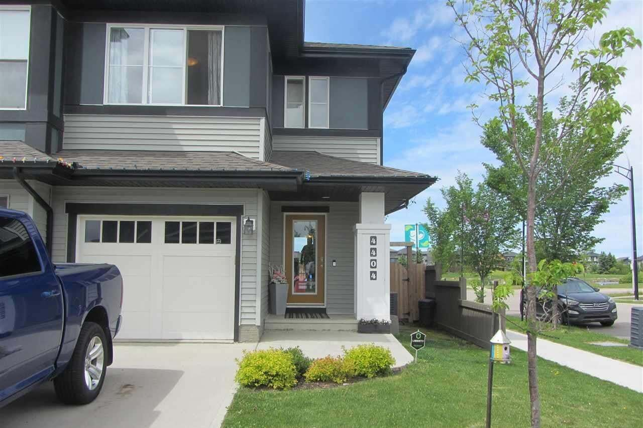 Townhouse for sale at 4404 Prowse Rd SW Edmonton Alberta - MLS: E4201838