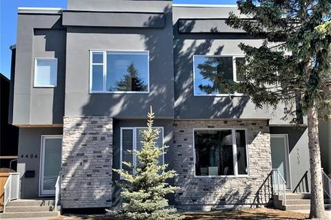 Townhouse for sale at 4408 16a St Southwest Calgary Alberta - MLS: C4295811
