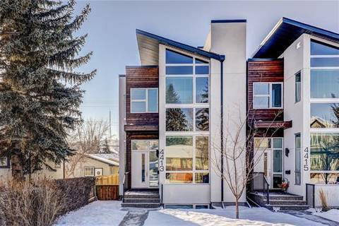 Townhouse for sale at 4413 19 Ave Northwest Calgary Alberta - MLS: C4279825