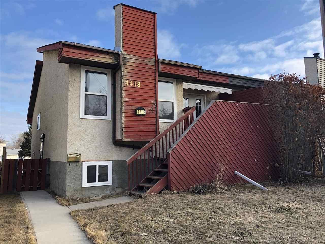 Townhouse for sale at 4418 50 Ave Cold Lake Alberta - MLS: E4153735