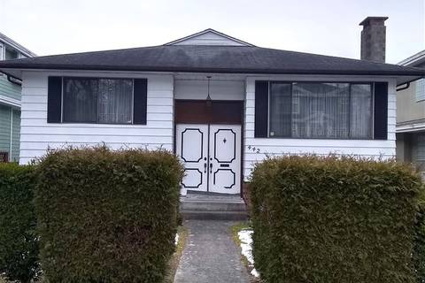House for sale at 442 50th Ave E Vancouver British Columbia - MLS: R2343242