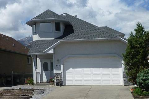House for sale at 442 Grotto Rd Canmore Alberta - MLS: C4255166