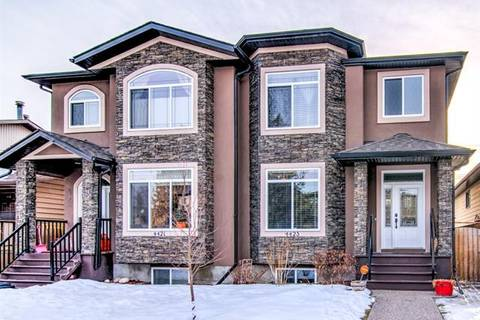 Townhouse for sale at 4423 19 Ave Northwest Calgary Alberta - MLS: C4291418