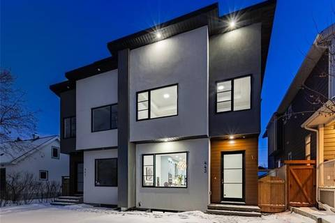 Townhouse for sale at 443 26 Ave Northwest Calgary Alberta - MLS: C4286214