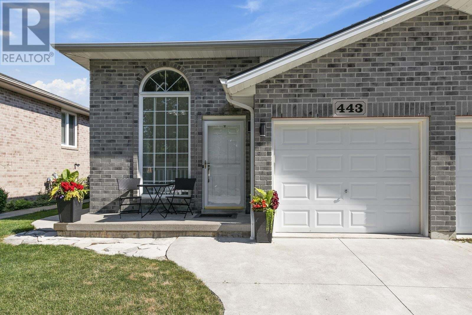 Townhouse for sale at 443 Railway  Belle River Ontario - MLS: 20008004