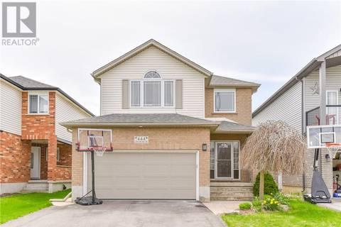 House for sale at 444 Chesapeake Dr Waterloo Ontario - MLS: 30735616