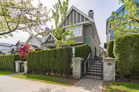 Townhouse for sale at 4448 8th Ave W Vancouver British Columbia - MLS: R2366173