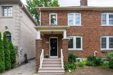 Townhouse for rent at 447 Balliol St Toronto Ontario - MLS: C4543564