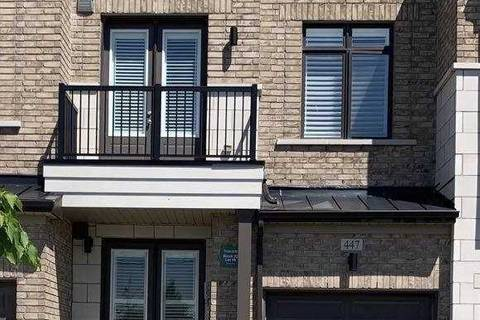 Townhouse for sale at 447 Elyse Ct Aurora Ontario - MLS: N4490811