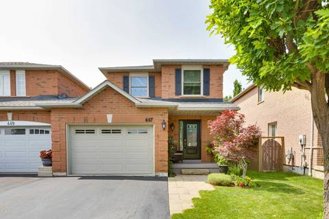 Townhouse for sale at 447 Fothergill Blvd Burlington Ontario - MLS: W4526386